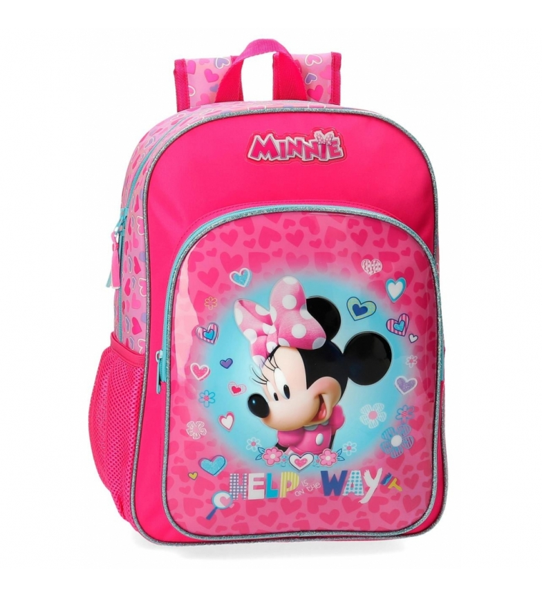 Comprar Minnie Mochila Minnie Help adaptable a carro -29x38x12cm-