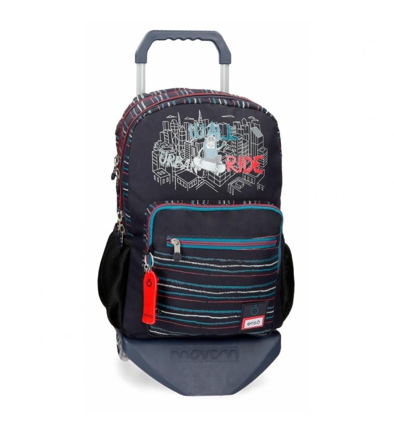 Comprar Enso Enso Wall Ride Backpack Compartimento duplo com carrinho -30,5x44x15cm