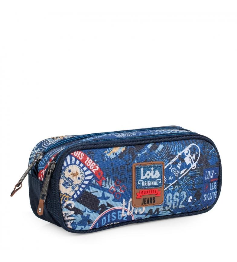 Comprar Lois Estuche 130114 azul -23x10x8,5cm-