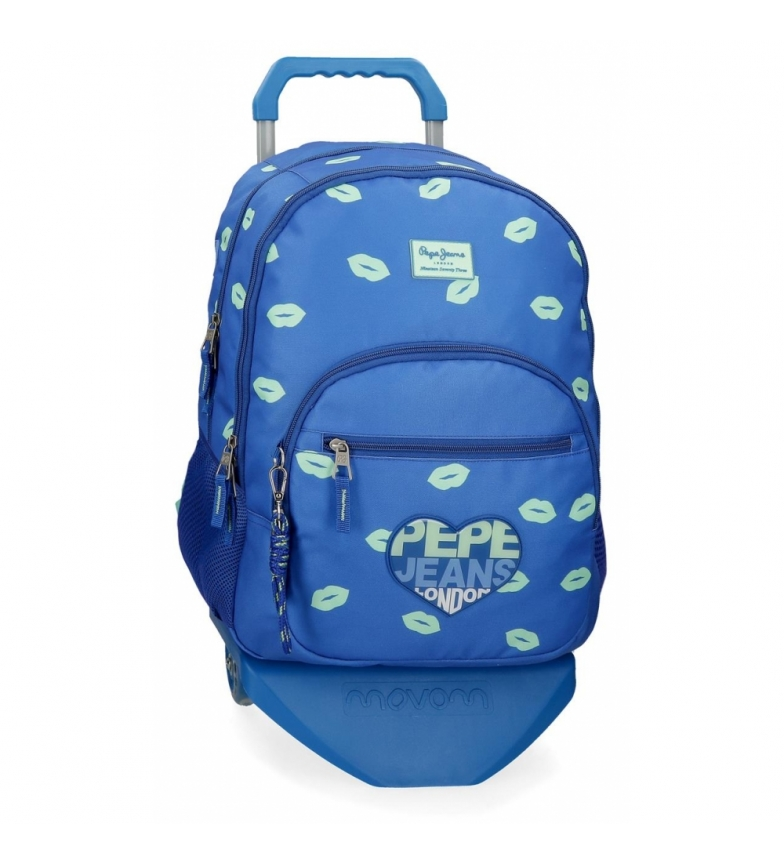 Comprar Pepe Jeans Pepe Jeans Ruth Backpack Double Zipper with Trolley -32x44x22cm