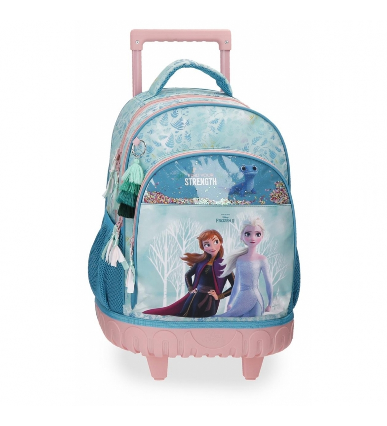 Comprar Frozen Frozen backpack with Find Your Strenght 2R wheels. -33x44x21cm