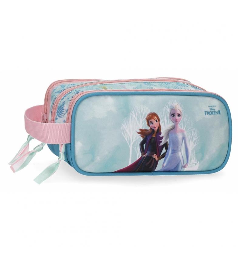 Comprar Frozen Estuche Frozen Find Your Strenght Triple Cremallera -22x10x9cm-
