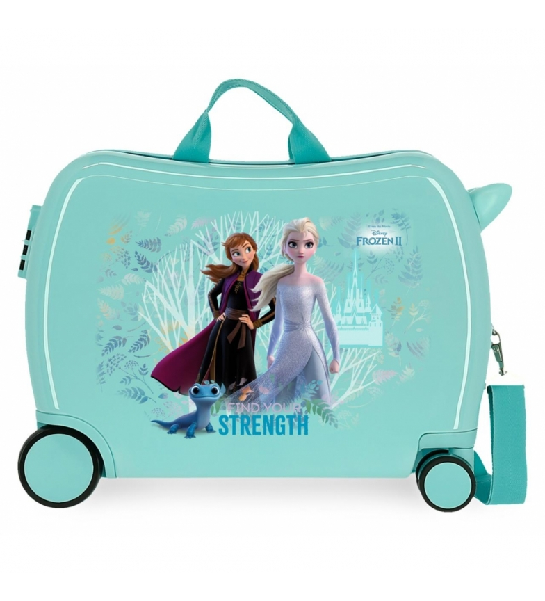 Comprar Frozen Frozen Find Your Strenght Children's Suitcase with 2 multidirectional wheels -38x50x20cm