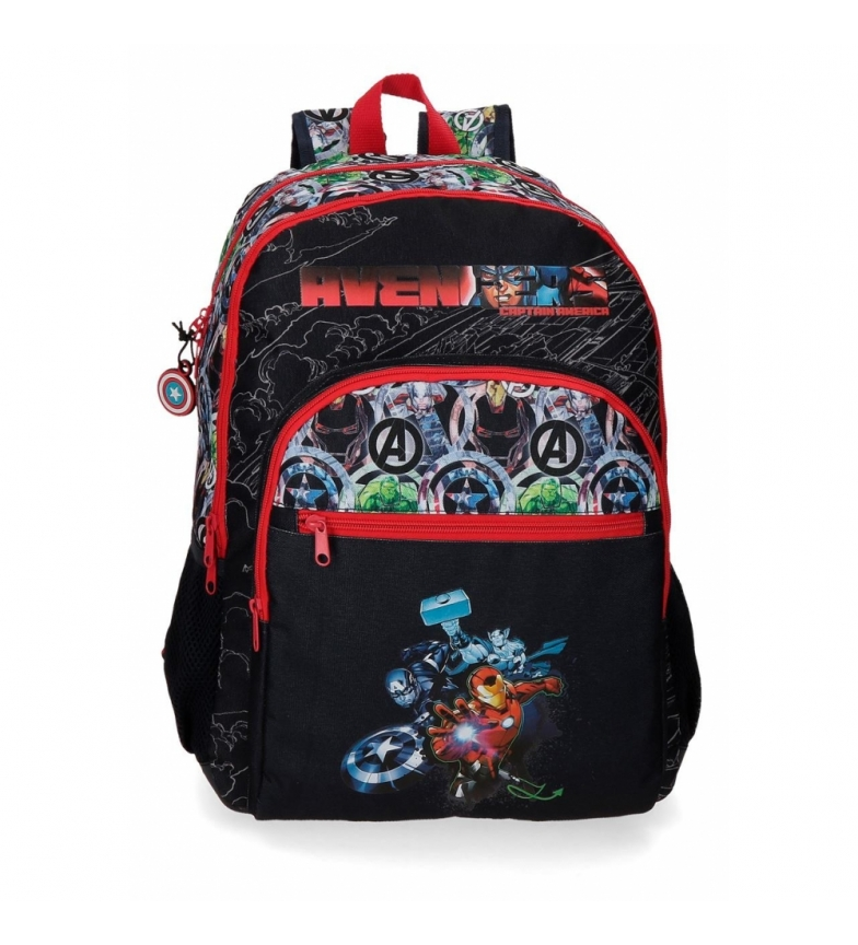 Joumma Bags Avengers Armour Up Double Adaptive Compartment Backpack -33x44x13,5cm