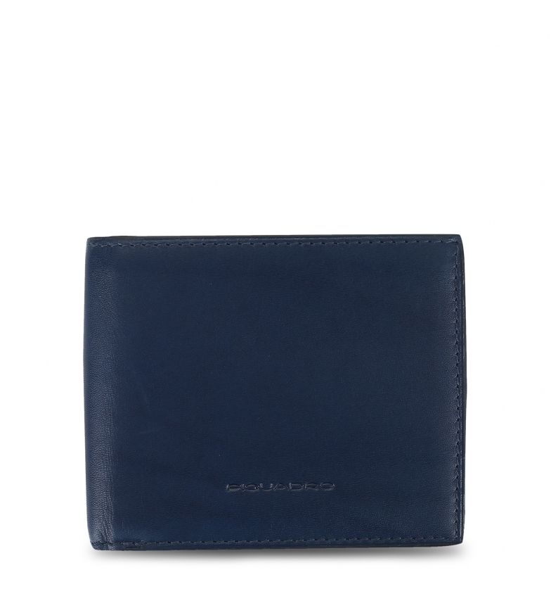 Comprar Piquadro Carteira de couro PU4518BOR azul -11x9x2cm