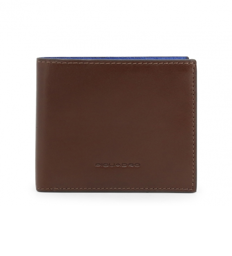 Comprar Piquadro Leather wallet PU3891BOR brown -11x9x1cm