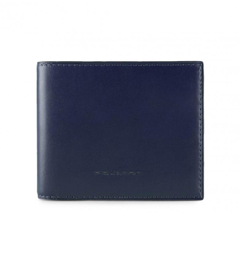 Comprar Piquadro Portefeuille en cuir PU3891BOR bleu -11x9x1cm