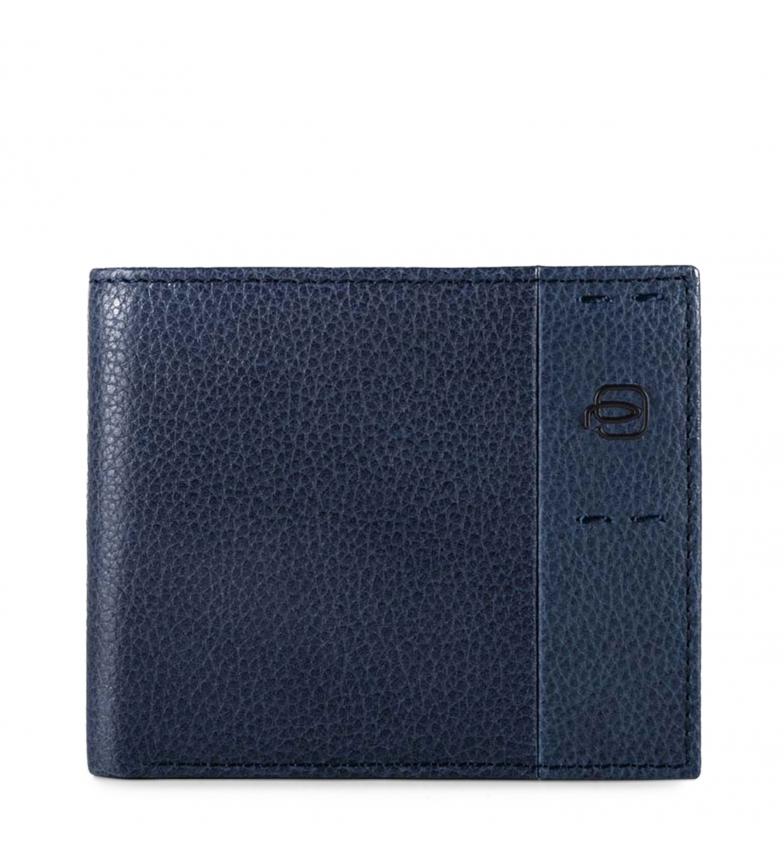 Comprar Piquadro Carteira de couro PU4188P15S azul -11x9x2cm