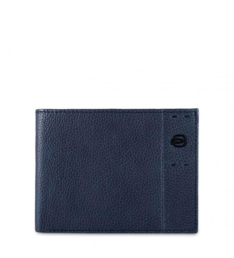 Comprar Piquadro Carteira de couro PU1241P15S azul -13x10x1,5cm