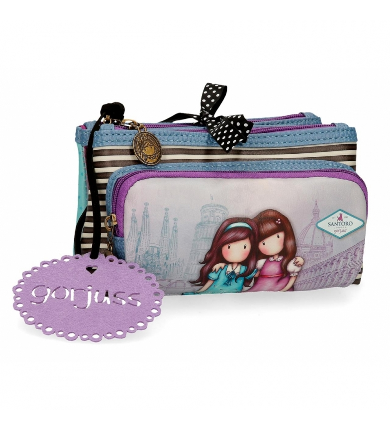 Comprar Gorjuss Trousse de toilette petit Gorjuss trois compartiments Friends Walk Together -20,5x10,5x8,5cm