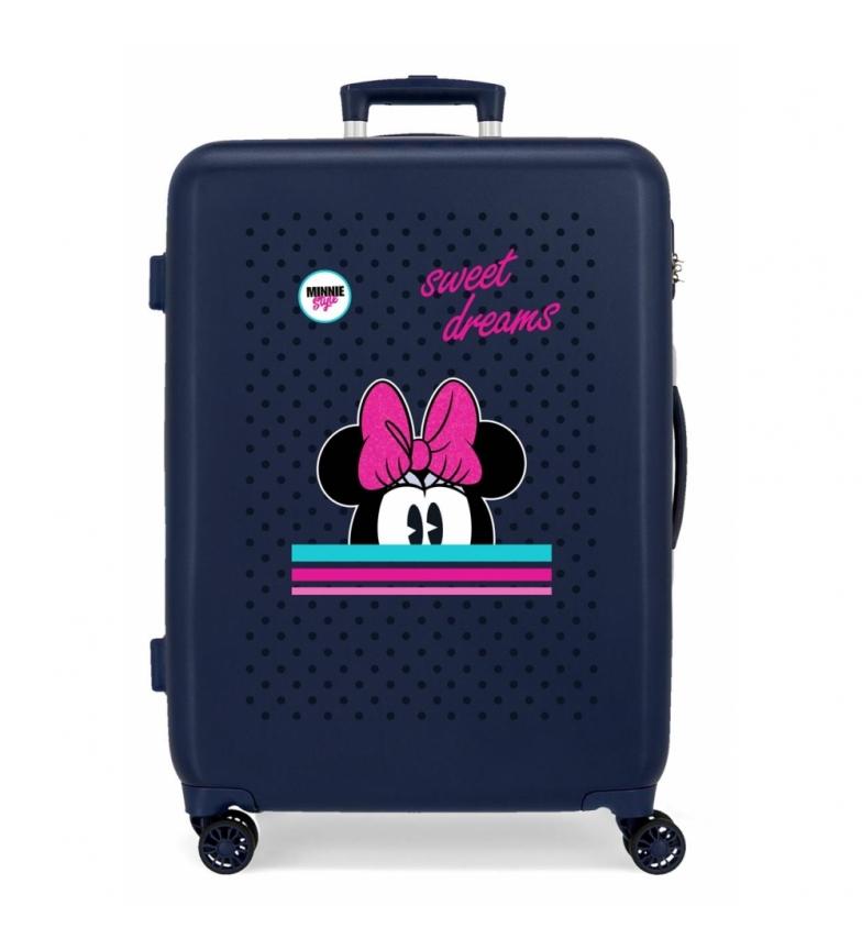 Comprar Disney Maleta Mediana Sweet Dreams Minnie rígida -68x48x26cm-