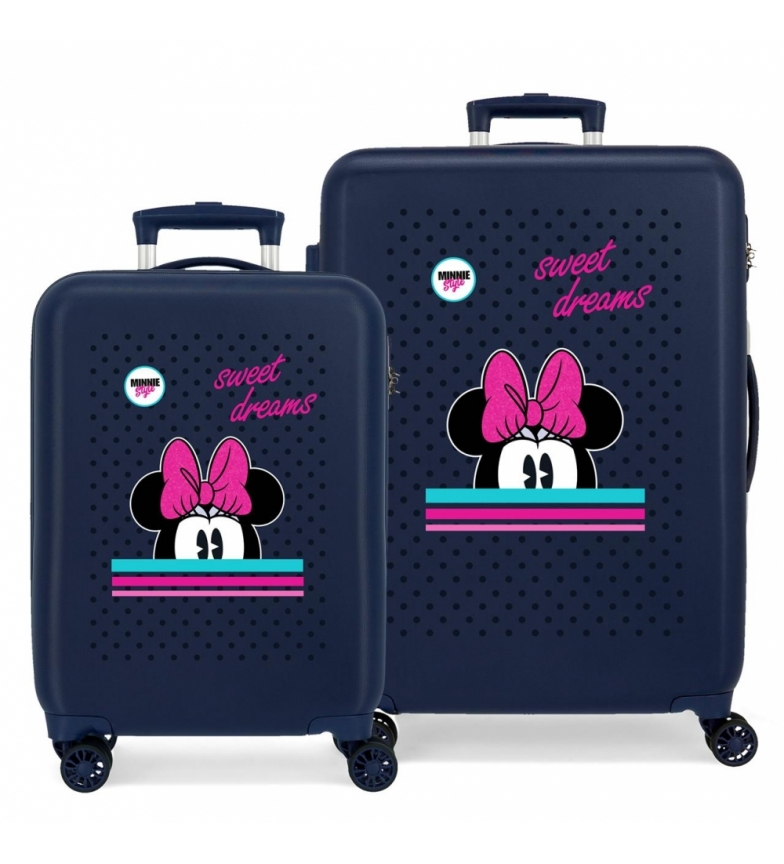 Comprar Disney Sweet Dreams Minnie set di valigie rigide -38x55x20cm/48x68x26cm
