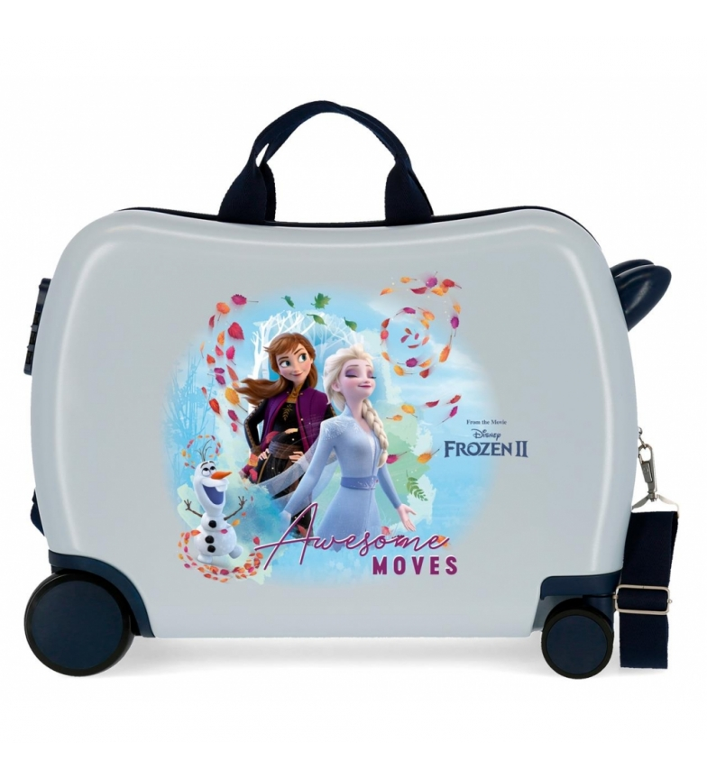 Comprar Frozen Frozen Awesome déplace une valise pour enfants avec 2 roues multidirectionnelles -38x50x20cm
