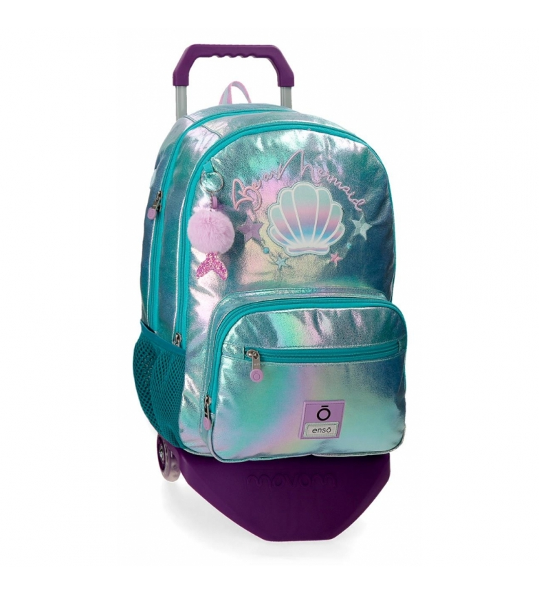 Comprar Enso Enso Be a Mermaid Backpack Double Compartment with Trolley -32x44x17cm