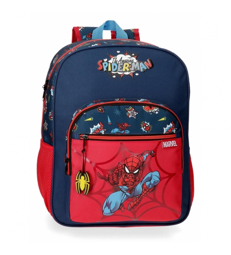 Comprar Spiderman Spiderman Pop Borsa scuola adattabile -30x38x12cm