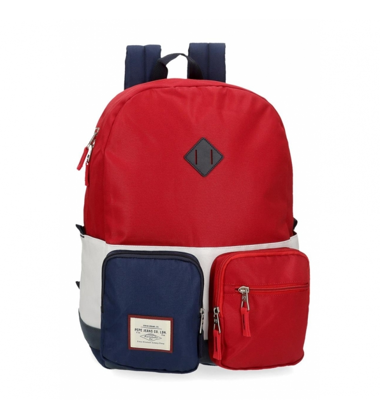 Comprar Pepe Jeans Pepe Jeans Dany Adaptable School Backpack Red -32x44x15cm