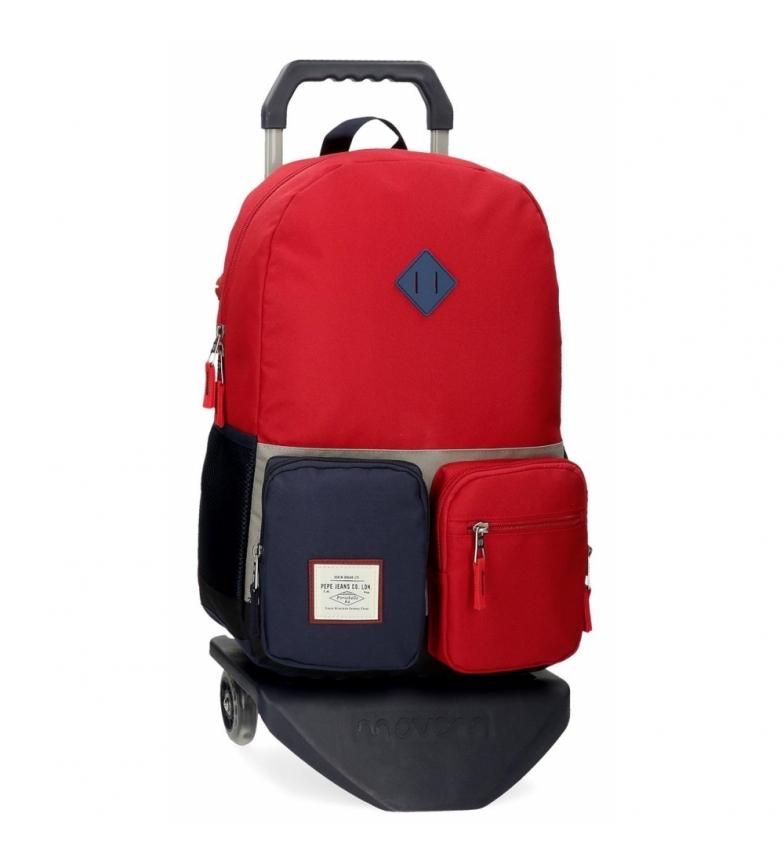 Comprar Pepe Jeans Pepe Jeans Dany Zaino scuola con auto rossa -32x44x15cm