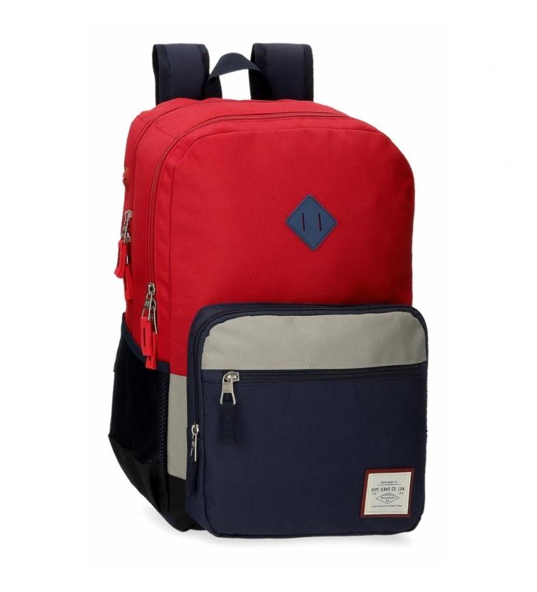 Comprar Pepe Jeans Pepe Jeans Dany Zaino a due scomparti Rosso -31x46x15cm