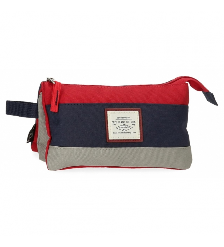 Comprar Pepe Jeans Boîte à trois compartiments Pepe Jeans Dany Rouge -22x12x5cm