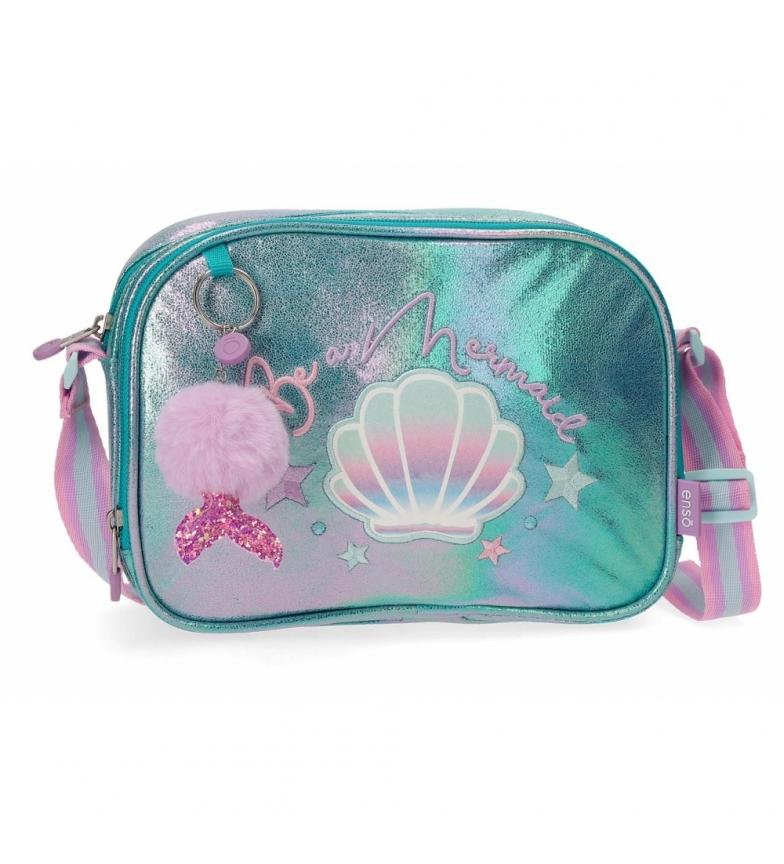 Comprar Joumma Bags Enso Be a Mermaid Shoulder Bag Dois compartimentos verde -23x17x8cm