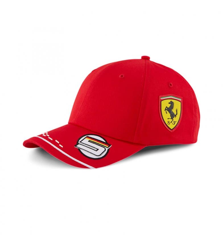 Comprar Puma Cappellino rosso Ferrari Replica Vettel