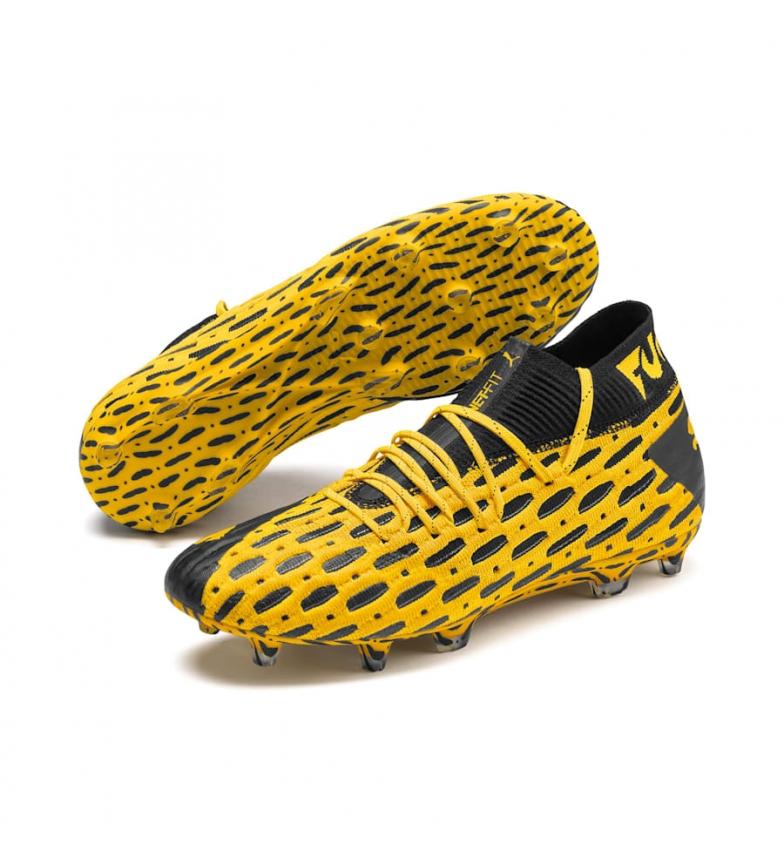 Comprar Puma Future 5.1 Netfit FG/AG Ultra Yellow Football Shoes