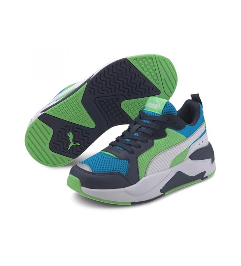 Comprar Puma Chaussures X-Ray Jr Dresden vert, bleu