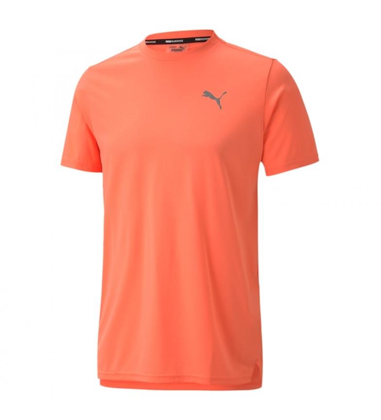 Comprar Puma T-shirt cor-de-laranja Run Laser Cat SS