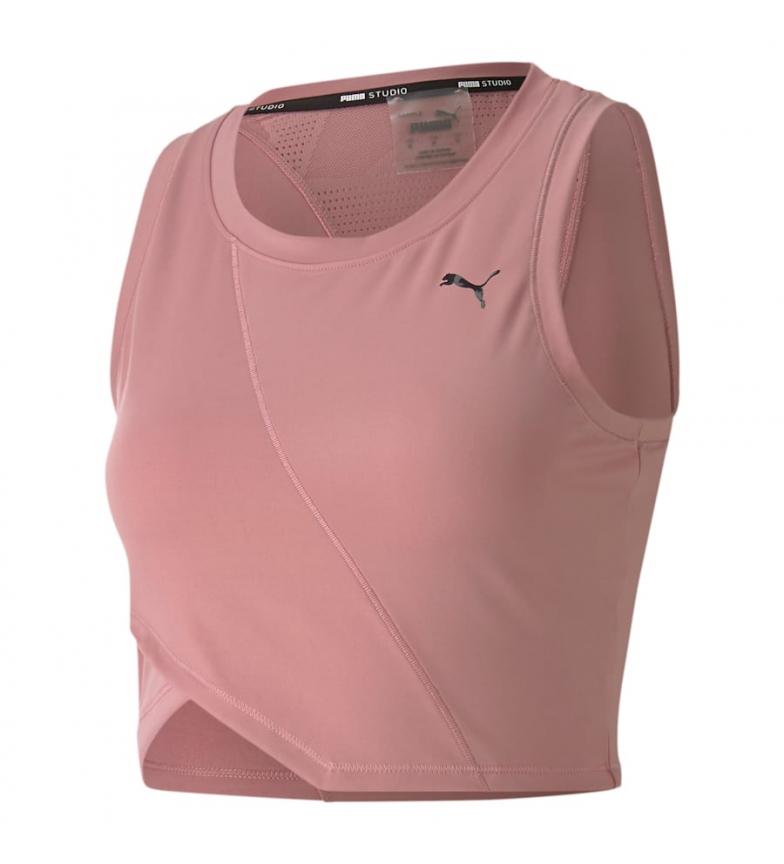 Comprar Puma Top Studio Crop Lace Tank Foxglove rose