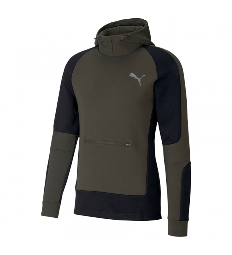 Comprar Puma Evostripe khaki sweatshirt