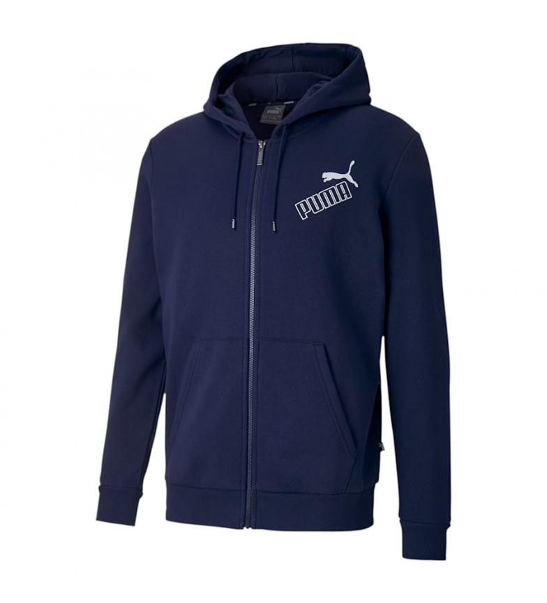 Comprar Puma Sweat-shirt marin Big Logo FZ