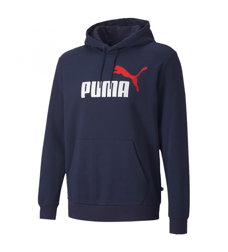 Comprar Puma Sweatshirt ESS 2 Col Hoody FL Big Logo marine