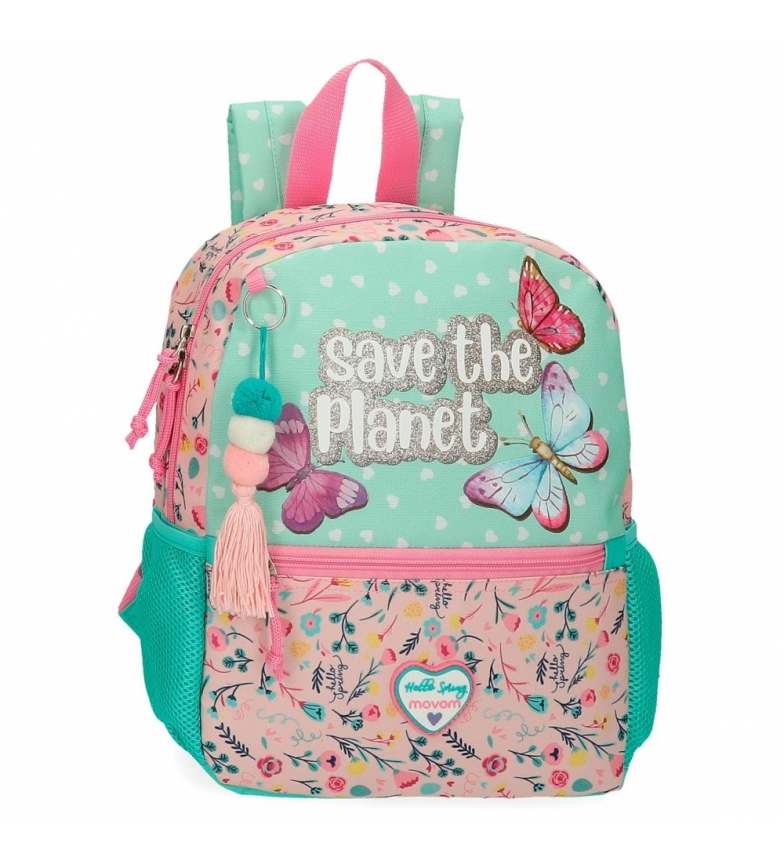 Comprar Movom Mochila Pequeña Movom Save the Planet multicolor -27x32x10cm-