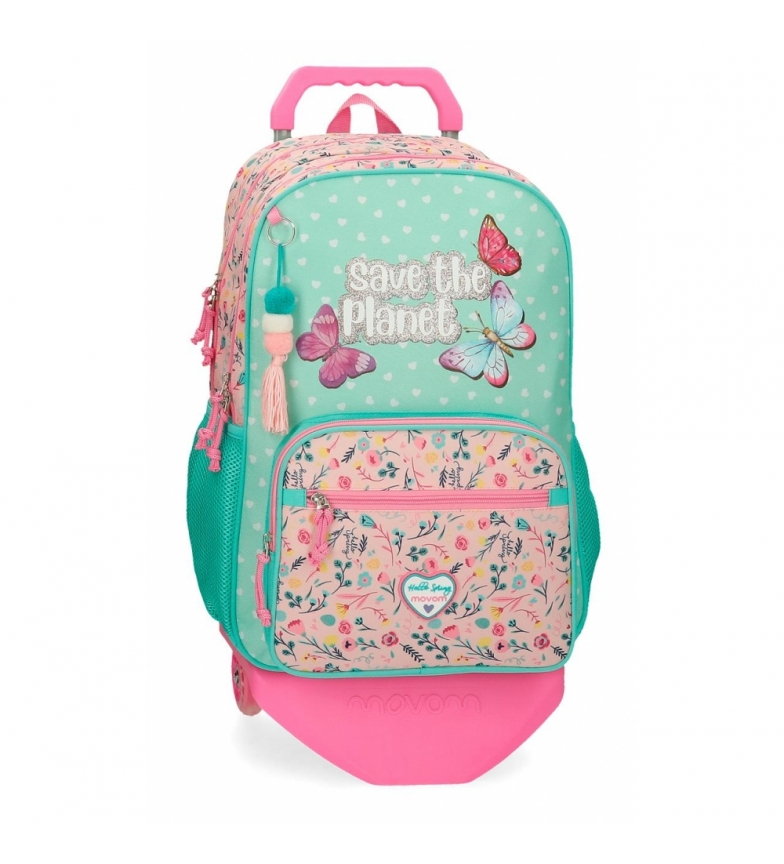 Comprar Movom Movom Save the Planet Backpack Double Compartment with Trolley -32x46x17cm