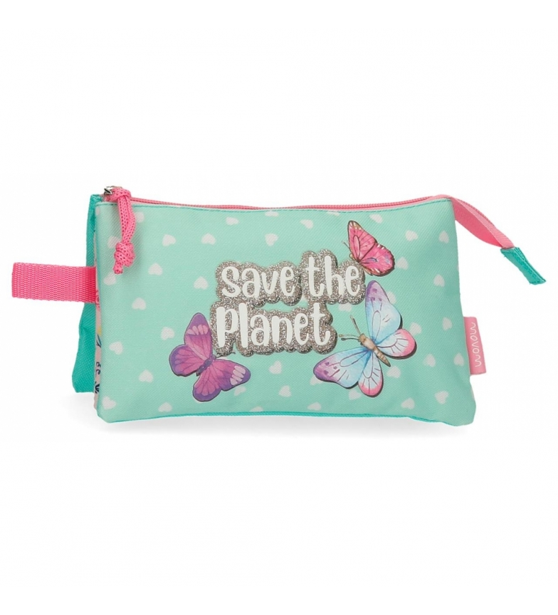 Comprar Movom Movom Save the Planet Case Three Colourful Compartments -22x12x5cm