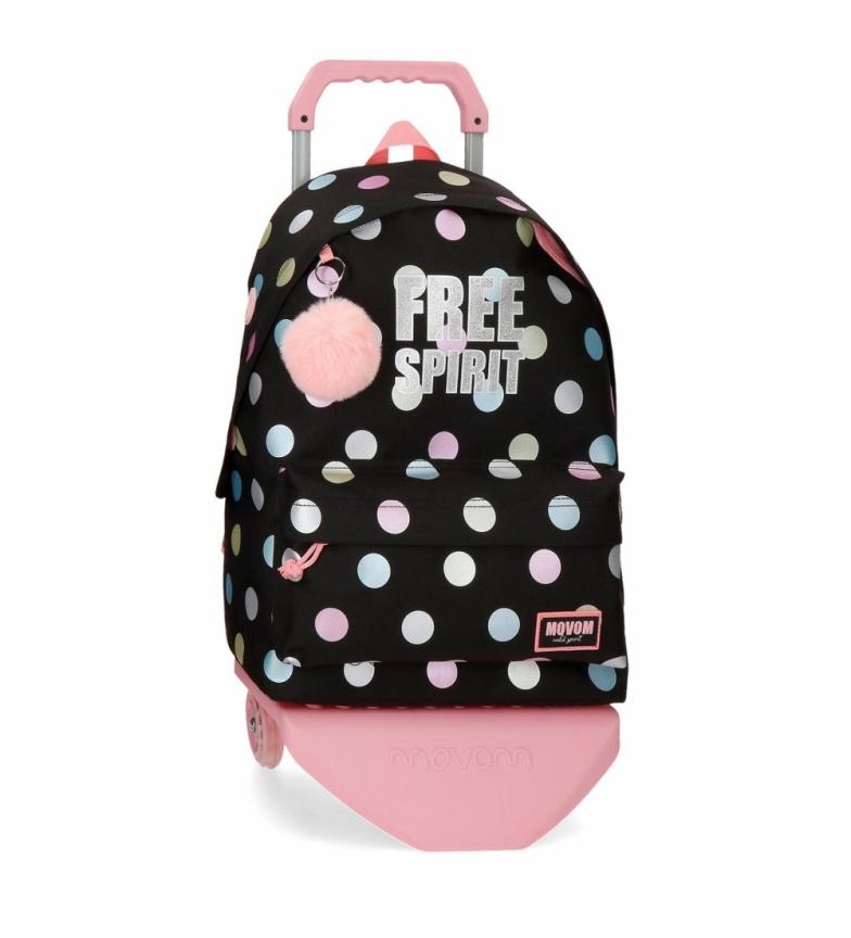 Comprar Movom Mochila com 42cm Movom Free Dots Backpack com Carrinho -31x42x17.5