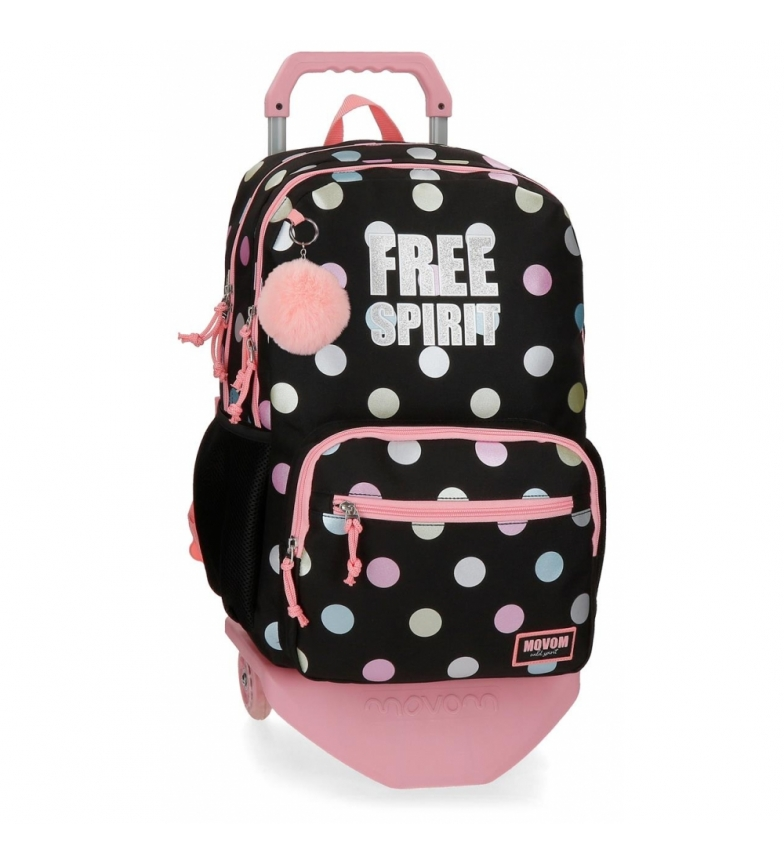 Comprar Movom Movom Free Dots Backpack Compartimento duplo com carrinho -32x46x17cm