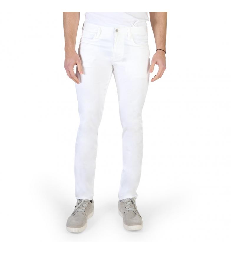 Comprar Armani Jeans Pantaloni 3Y6J06_6NEDZ bianco