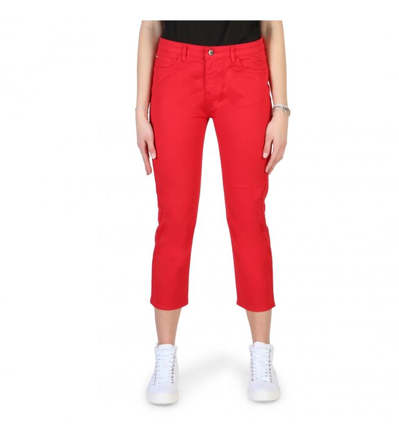Comprar Armani Jeans Pantalones 3Y5J10_5N18Z rojo