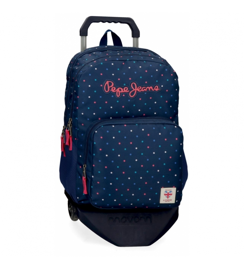 Comprar Pepe Jeans Pepe Jeans Molly Double Zippered Backpack with Trolley -31x46x16cm