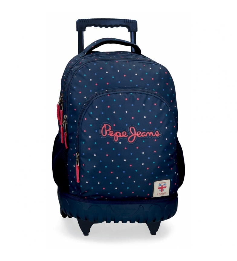 Comprar Pepe Jeans Pepe Jeans Molly 2R Wheeled Backpack -32x43x21cm
