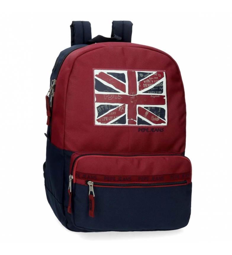 Pepe Jeans Sac à dos d'école adaptable Pepe Jeans Andy -32x44x15