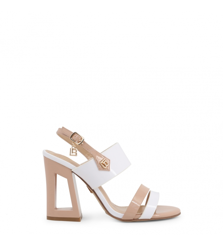 Comprar Laura Biagiotti Sandales 6296 blanches - Hauteur du talon : 10cm