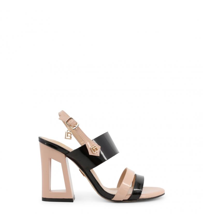 Comprar Laura Biagiotti Sandales 6296 noires - Hauteur du talon : 10cm
