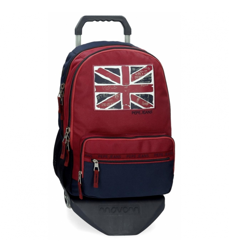 Comprar Pepe Jeans Pepe Jeans Andy Two-Compartment Backpack with Trolley -31x46x16cm