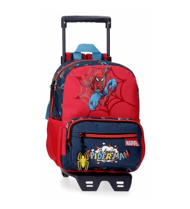 Comprar Spiderman Spider-Man Zaino a scomparsa con trolley -23x28x10cm