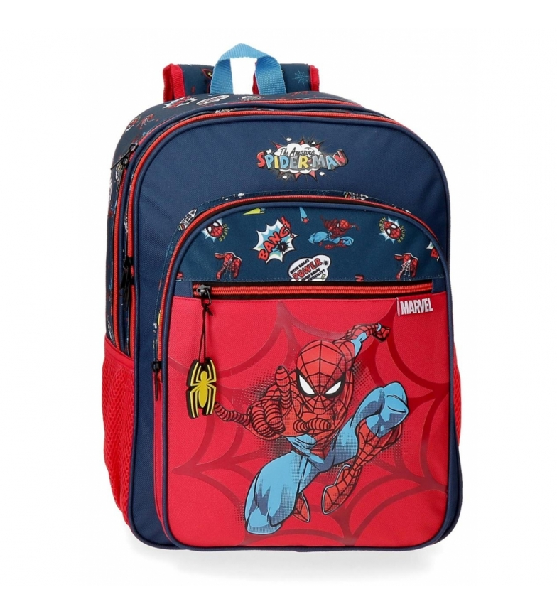 Comprar Spiderman Spiderman Pop Zaino adattivo a due scomparti -30x40x13cm