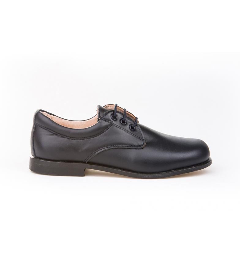 Comprar Angelitos Zapato de Piel Blucher marino