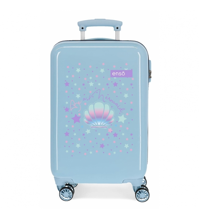 Comprar Enso Dimensioni cabina valigia Enso Be a Mermaid rigido Blu -34x55x20cm