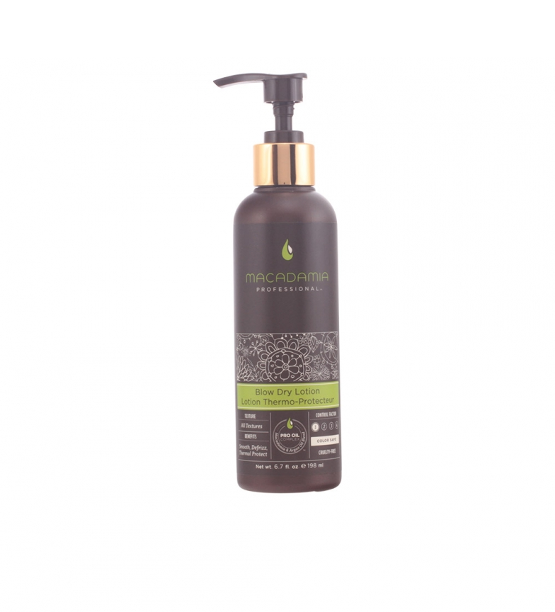 Comprar MACADAMIA Heat protector STYLING blow dry lotion 198 ml
